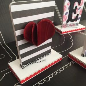 Valentines Heart love home decor diy