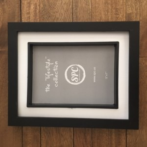 Shadow Box frame with mat