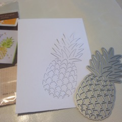 hero arts pineapple die cut