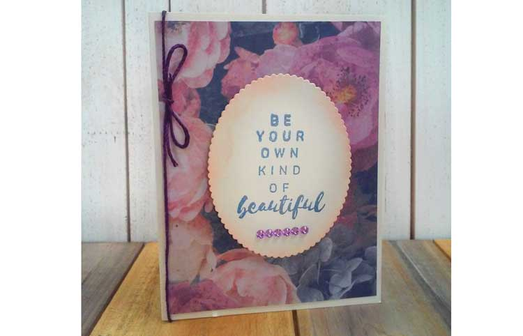 """Kind of Beautiful"" Card @ Bearverton Location 