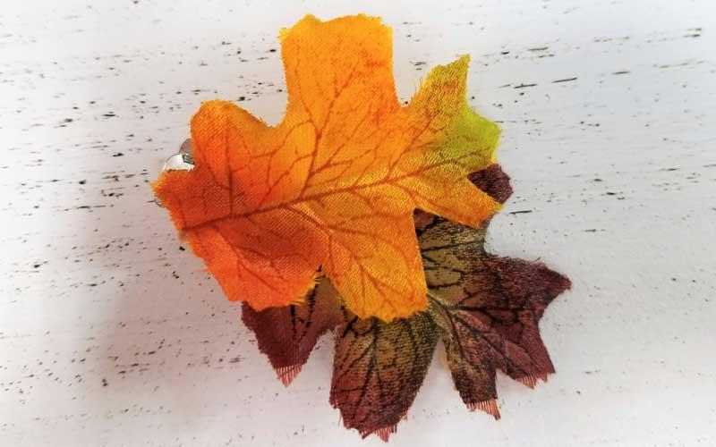 Fall Leaf Hairclip @ Salem Location   Salem   Oregon   United States