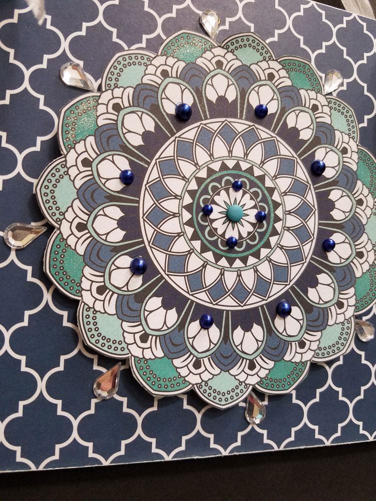Mandala Plaque