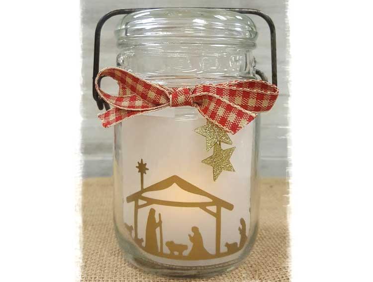 Manger Silhouette Jar @ Meridian Location | Meridian | Idaho | United States