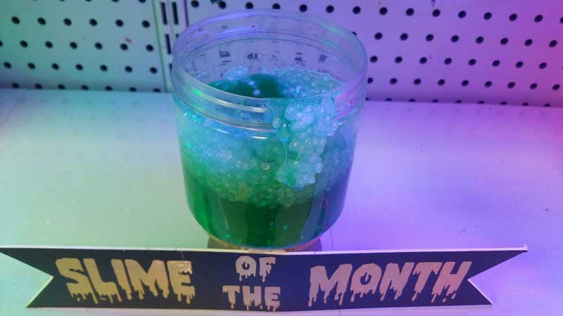 Melon Slushy Slime @ Medford Location | Medford | Oregon | United States