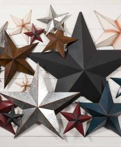 Rustic Metal Stars for Decor at Craft Warehouse