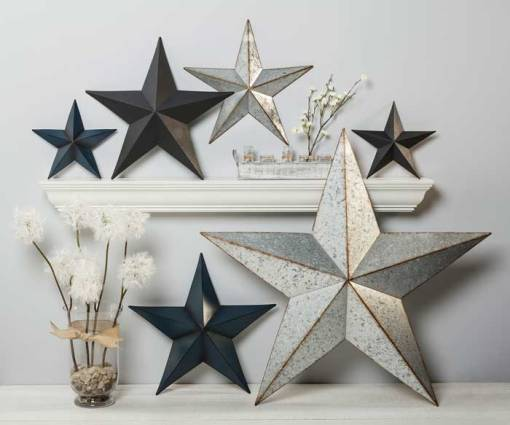 Modern Farmhouse Stars at Craft Warehouse