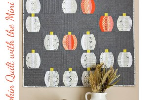 Make a Mini Pumpkin Quilt with a Mini QCR
