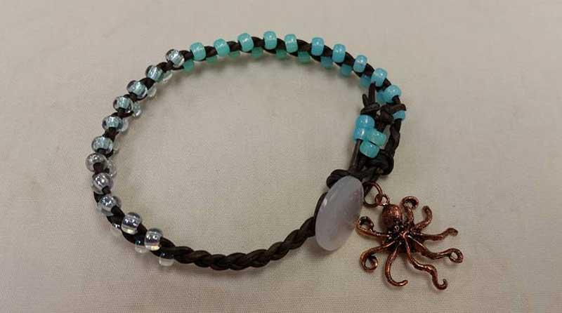 Leather Ombre Ocean Bracelet @ Medford Location | Medford | Oregon | United States