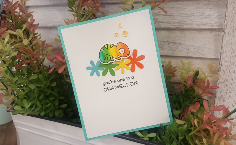 One in a Chameleon Card Make & Take @ Meridian Location | Meridian | Idaho | United States