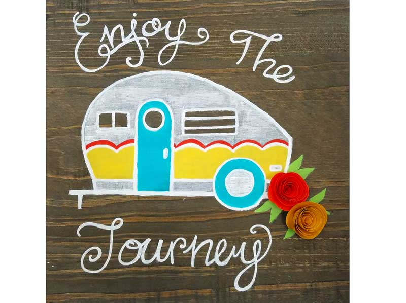 Paint Night: Enjoy the Journey @ Craft Warehouse @ Gresham Station | Gresham | Oregon | United States