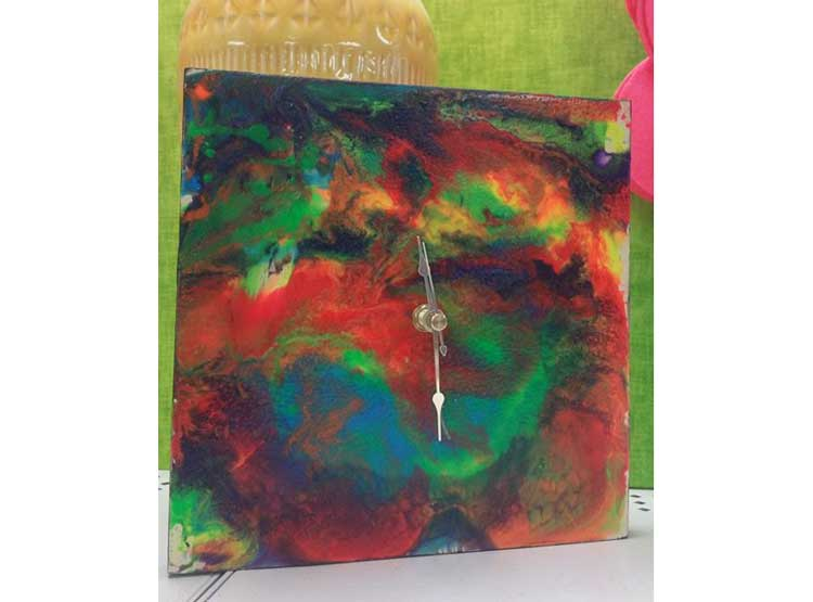 Paint Pouring Clock @ Medford Location | Medford | Oregon | United States