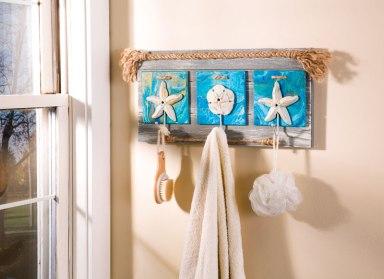 Paint Pouring Bath Hook Board