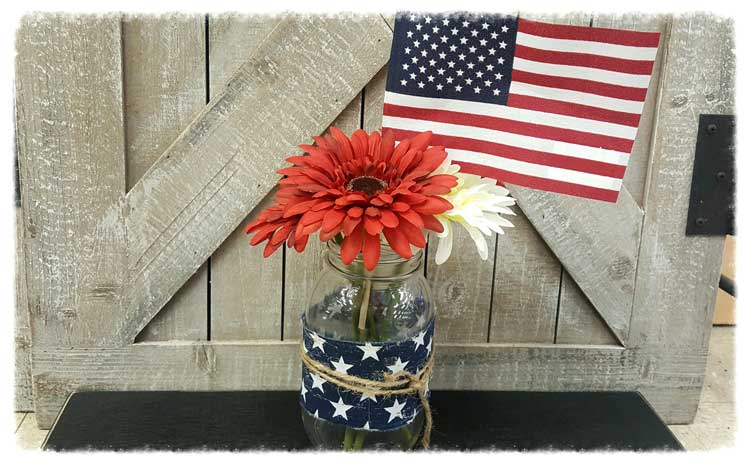 Patriotic Jar @ Meridian Location | Meridian | Idaho | United States