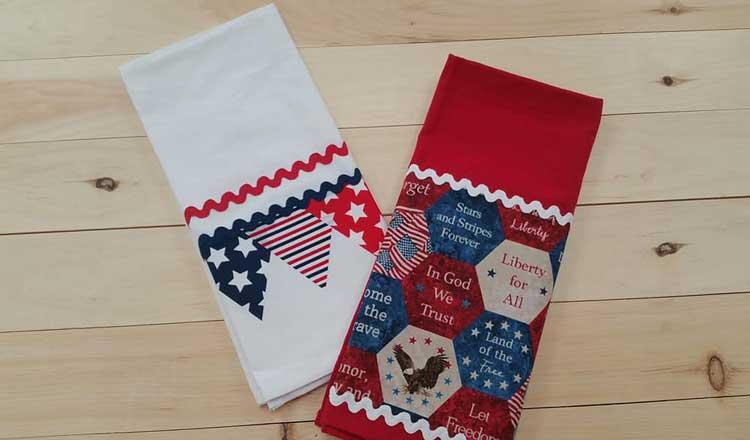 Patriotic Towels @ Medford Location | Medford | Oregon | United States