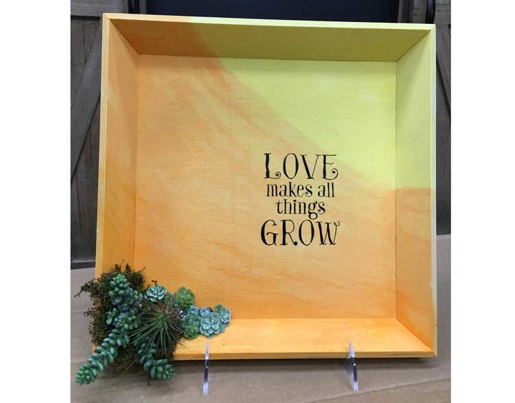 HAPPY HOUR: Ombre Welcome Plaque @ Gresham Location | Gresham | Oregon | United States