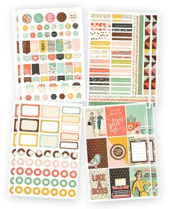 Reset Girl Planner Sticker at Craft Warehouse