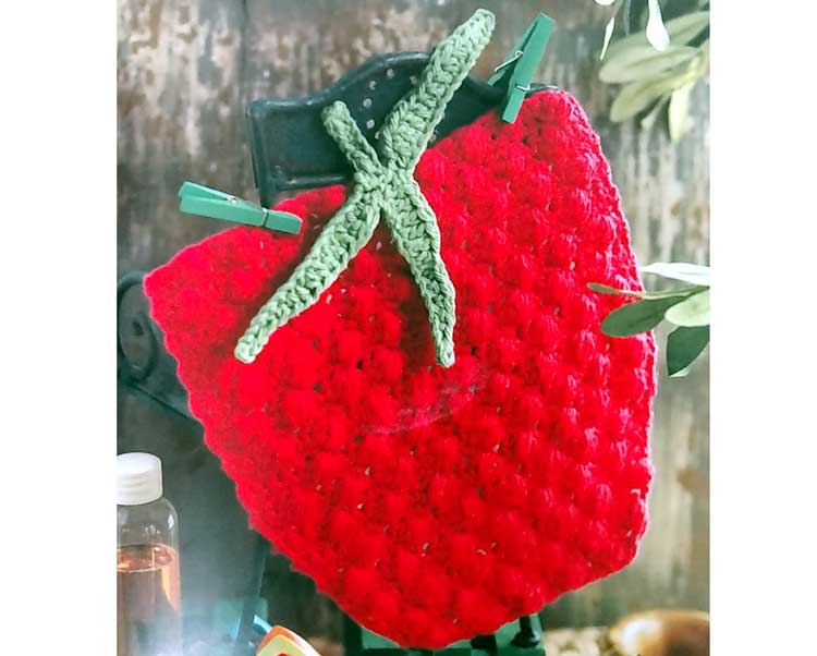 Crochet Raspberry Dishcloth @ Gresham Location | Gresham | Oregon | United States