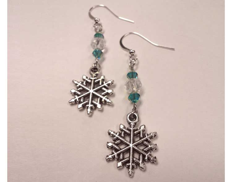 Snowflake Earrings @ Beaverton Location | Beaverton | Oregon | United States