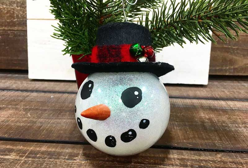 Snowman Ornament @ Hazel Dell Location | Vancouver | Washington | United States