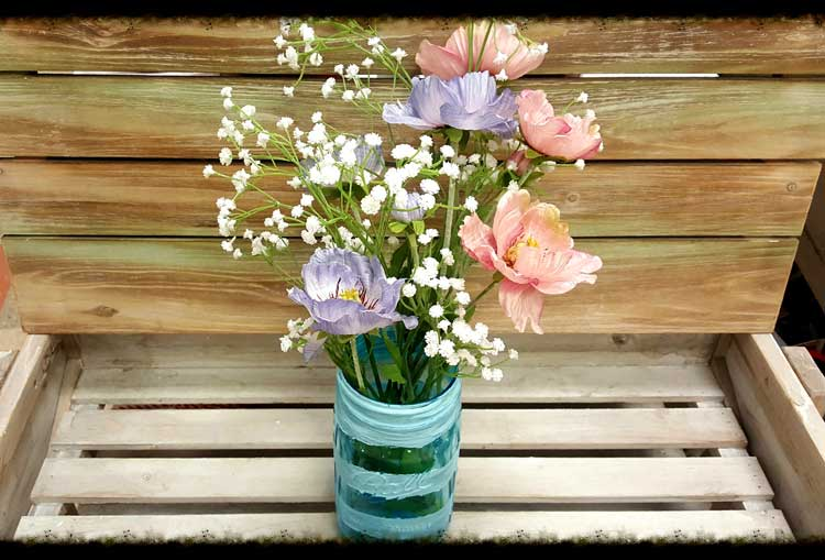 Spring Painted Poppy Jar @ Meridian Location | Meridian | Idaho | United States