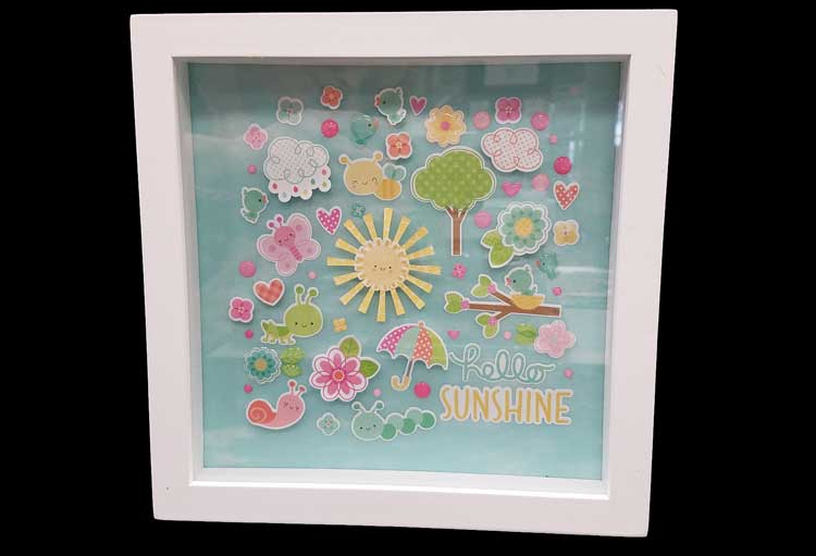 Happy Hour - Spring Shadowbox @ Gresham Location | Gresham | Oregon | United States