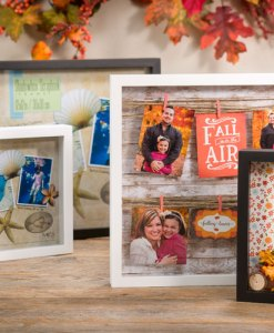 Black and White Shadow Boxes