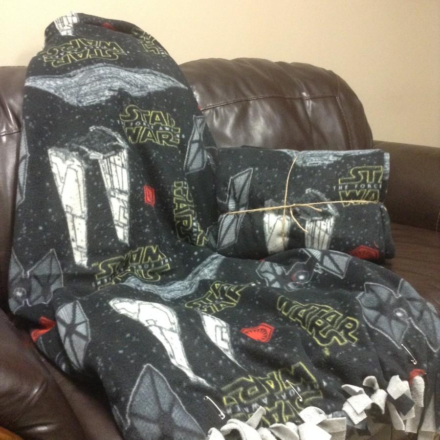 No Sew Star Wars Fleece Diy Blanket Craft Warehouse