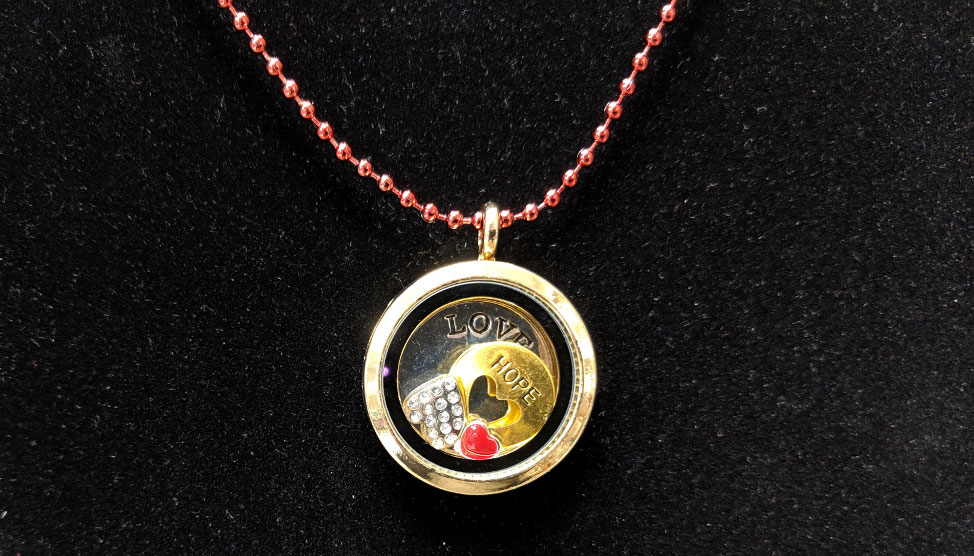 Story Locket Necklace