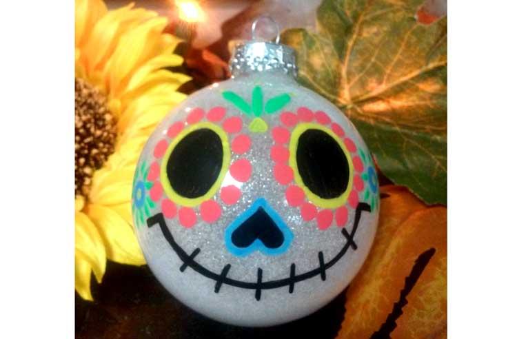 Sugar Skull Ornament @ Beaverton Location | Beaverton | Oregon | United States