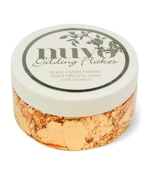 Nuvo Sunkissed Copper Gilding Flakes at Craft Warehouse