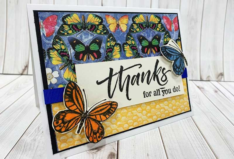 """Thanks For All You Do"" Card"