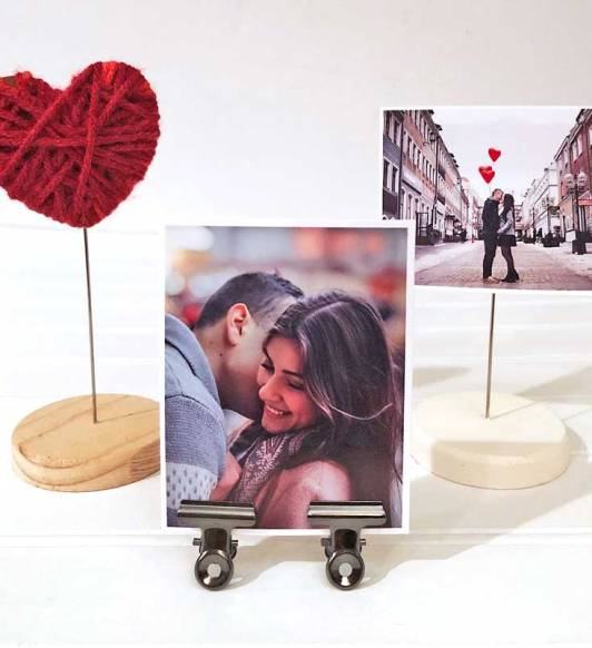 Valentines Mason Jar Display