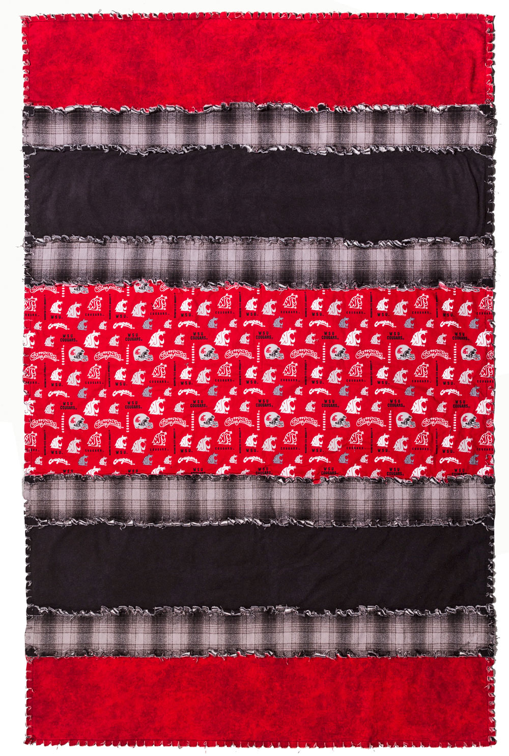 How To Make And Easy Cozy Flannel Rag Quilt