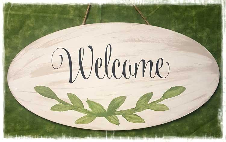 Welcome Door Hanger @ Meridian Location | Meridian | Idaho | United States