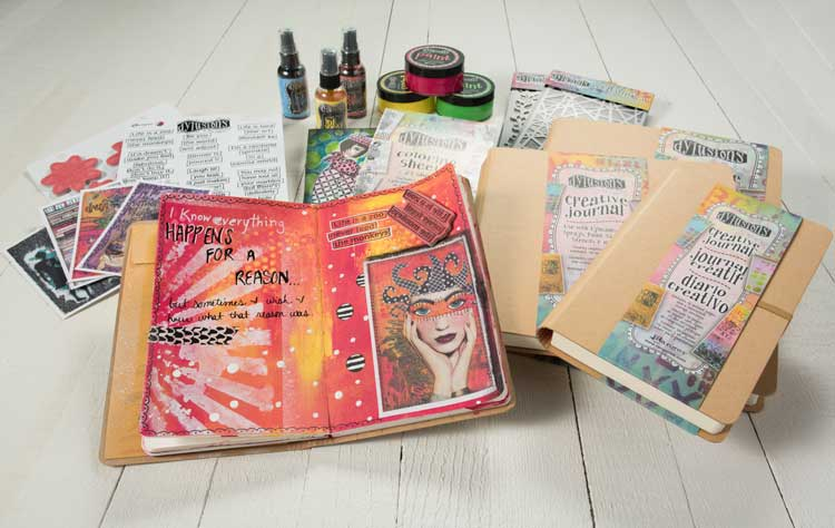 art journaling with art journals at Craft Warehouse