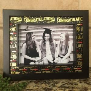 DIY Graduation Frame washi tape