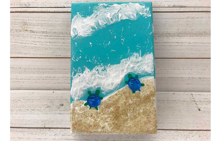 Beachy Wood Painting @ Vancouver Location | Vancouver | Washington | United States