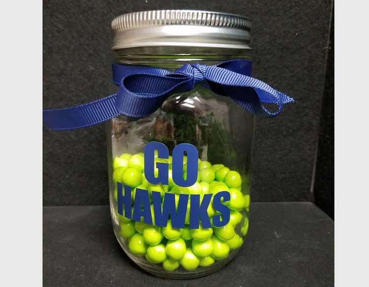 Blue Friday - Seahawk Candy Jar @ Kennewick Location  | Kennewick | Washington | United States