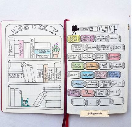 Books to Read Bujo by Didypanpie