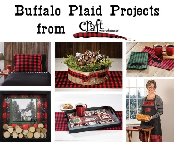 Buffalo Plaid Projects from Craft Warehouse