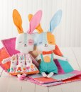 Spring Bunny Fun Cut and Sew Panels