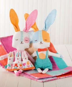 Spring Bunny Fun Cut and Sew Panels at Craft Warehouse