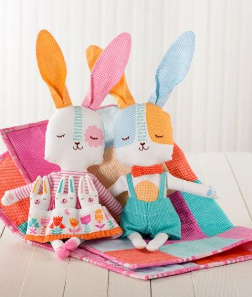 Spring Bunny Fun Cut and Sew Panels at Craft Warehouse