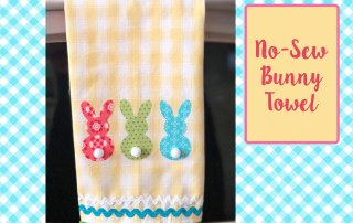 Make this Bunny Towel - printable project sheet