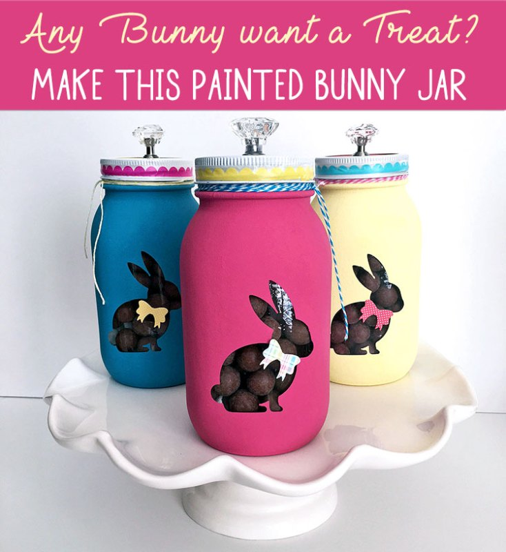 Make this Painted Bunny Jar at Craft Warehouse