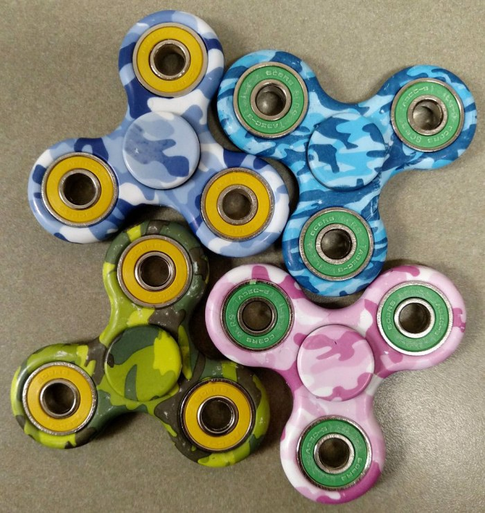 Camo style Fidget Spinners