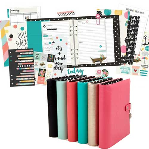 Carpe Diem Planners by Simple Stories available at Craft Warehouse