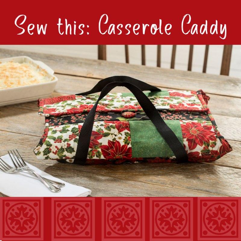 Sewing a Casserole Carrier