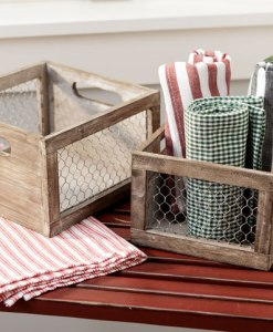 Chicken Wire Baskets at Craft Warehouse