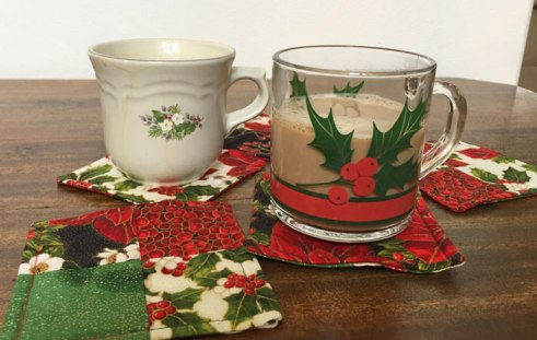 Making Holiday Coasters with June Tailor Casserole Caddy